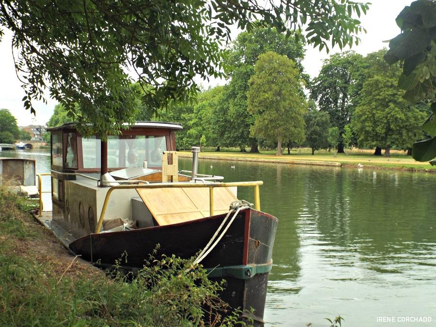 barco en el tamesis, oxford