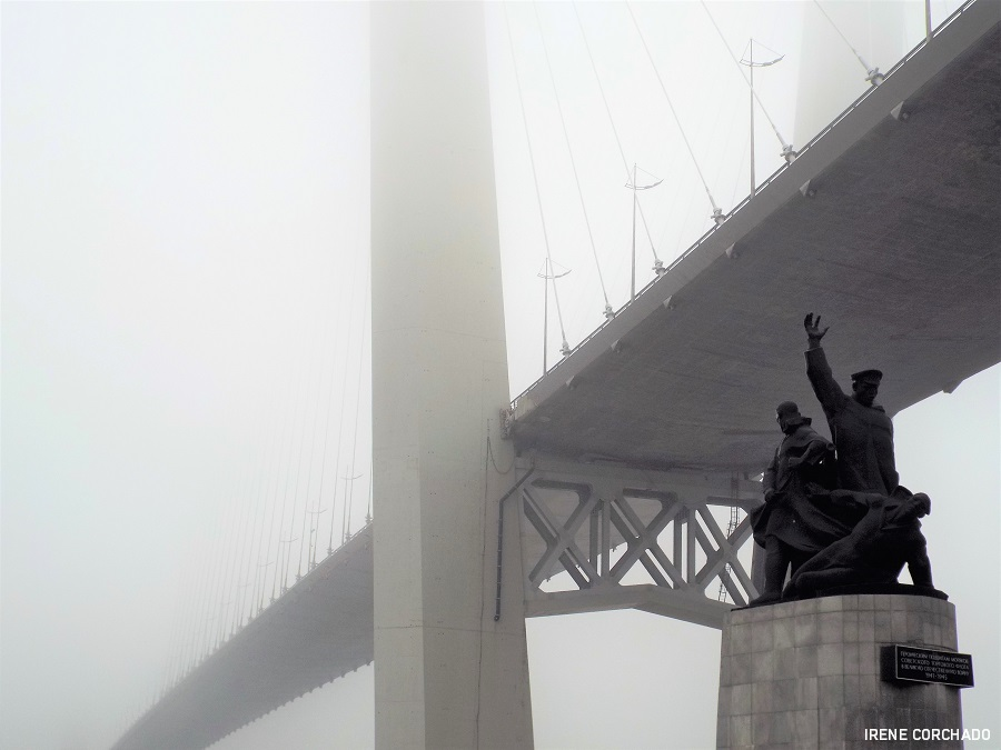 Zolotoyi most, Vladivostok, Rusia
