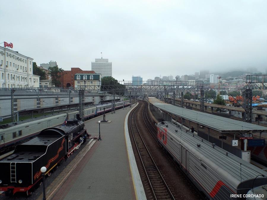 estacion de tren de Vladivostok, Rusia