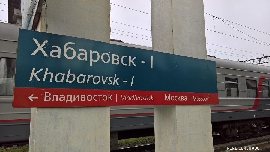 estacion de Jabarovsk, Rusia
