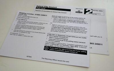 Elecciones municipales en Inglaterra